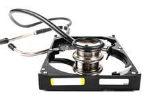 Sistema diagnostico del disco rigido Immagini Stock Libere da Diritti