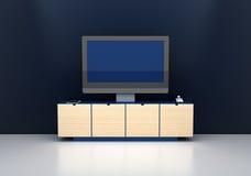 Sistema digitale in bianco della TV Immagine Stock Libera da Diritti
