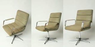 Sistema diseño de la silla de la oficina del viejo Foto de archivo libre de regalías