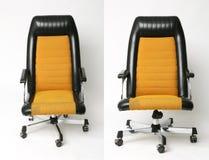 Sistema diseño de la silla de la oficina del viejo Imagen de archivo libre de regalías