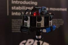 Sistema do equipamento 360 VR da Multi-câmera Fotos de Stock