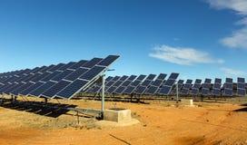 Sistema do painel solar Imagem de Stock