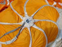 Sistema do paraquedas imagem de stock royalty free
