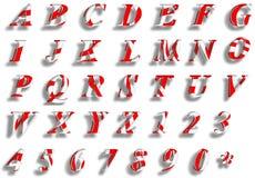 Sistema DULCE del nubmer del texto del CARAMELO Imagen de archivo libre de regalías