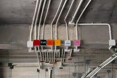 Sistema eléctrico Fotografía de archivo libre de regalías