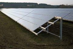Sistema eléctrico solar Imágenes de archivo libres de regalías