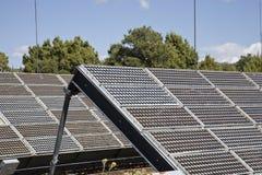 Sistema eléctrico solar Imagen de archivo