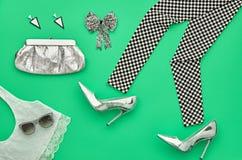 Sistema elegante de la moda Equipo del diseño ViewCosmetic superior Imagen de archivo libre de regalías