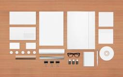 Sistema en blanco de los efectos de escritorio Imagen de archivo libre de regalías