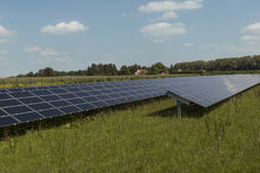 Sistema energetico di energia rinnovabile Fotografie Stock