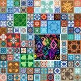 Sistema esmaltado de cerámica grande Imagen de archivo libre de regalías