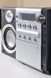 Sistema estereofónico compacto foto de stock