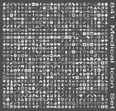 Sistema estupendo del icono médico Foto de archivo libre de regalías