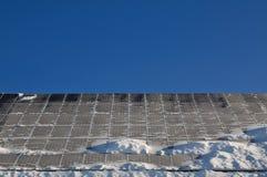 Sistema fotovoltaico Imagen de archivo libre de regalías
