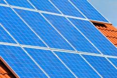Sistema fotovoltaico Imagen de archivo