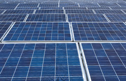 Sistema fotovoltaico Immagine Stock