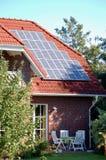 Sistema fotovoltaico Fotografía de archivo