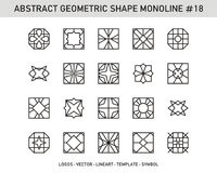 Sistema geométrico Foto de archivo libre de regalías