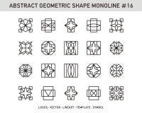 Sistema geométrico Fotos de archivo libres de regalías