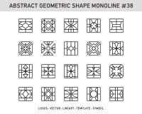 Sistema geométrico de la forma Imagen de archivo