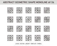 Sistema geométrico de la forma Fotografía de archivo libre de regalías