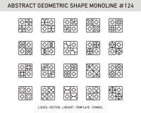Sistema geométrico de la forma del elemento Imagen de archivo libre de regalías