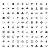 Sistema grande de los iconos del web Fotos de archivo