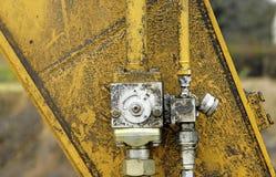 Sistema hidráulico Imagens de Stock Royalty Free