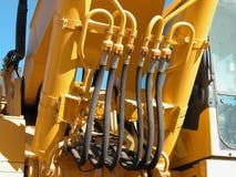 Sistema hydráulico Foto de archivo libre de regalías