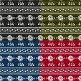 Sistema ideal del fondo del colector Fotos de archivo
