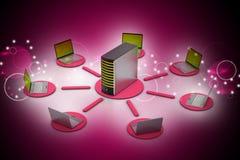Sistema inalámbrico del establecimiento de una red Fotografía de archivo libre de regalías
