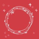 Sistema incompleto de la Navidad EPS 10 Ninguna transparencia Elementos de la Navidad, marco de la Navidad Imagen de archivo libre de regalías