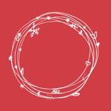 Sistema incompleto de la Navidad EPS 10 Ninguna transparencia Elementos de la Navidad, marco de la Navidad Imagenes de archivo