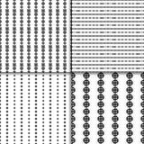 Sistema inconsútil del modelo del nudo céltico Fotos de archivo