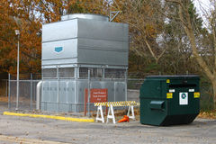 Sistema industriale di CA della pompa termica Immagini Stock