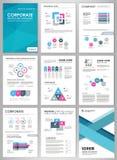 Sistema infographic creativo Imagen de archivo libre de regalías