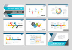 Sistema infographic de los datos Imagen de archivo