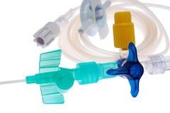 Sistema intravenoso fotografia de stock