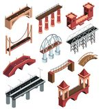 Sistema isométrico de los puentes