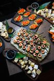 Sistema japonés de la comida Foto de archivo