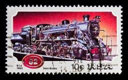 Sistema locomotivo 080 de Krupp, serie locomotivo, cerca de 1983 Fotografia de Stock