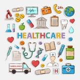 Sistema médico Imagen de archivo libre de regalías