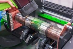 Sistema magnético de control de calidad no destructivo fotografía de archivo