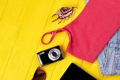 Sistema marino del estilo de la moda Foto de archivo libre de regalías