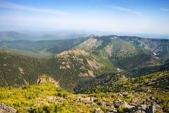 Sistema Miao Chan della montagna La montagna ha chiamato Chalba Fotografie Stock Libere da Diritti