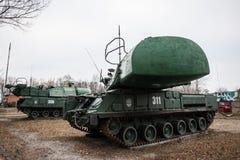 Sistema missilistico di Buk Fotografia Stock