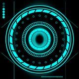 Sistema moderno futurista de la interfaz de usuario de Sci Fi HUD abstracto libre illustration