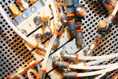 Sistema neumático. Foto de archivo libre de regalías