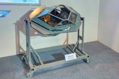 Sistema optoelectrónico a bordo de la búsqueda y de la vista Fotografía de archivo