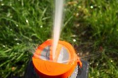 Sistema para a irrigação Imagens de Stock Royalty Free